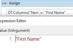 change datatable column name