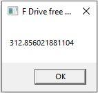 f drive storage